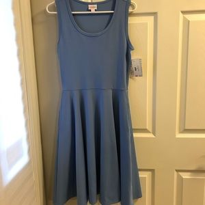 NWT Lularoe Nicki Sleeveless dress with pockets S